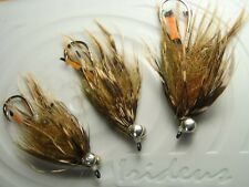 Irideus Mini Intruder Soft Hackle Wooly Bugger Streamer flies Trout Fly Fishing