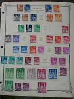 Germany: Between #634 & 661 Used, 1948-51 Series, 75 Diff,  Scott Value $ 53.35