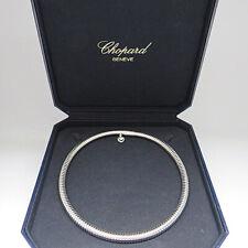 CHOPARD LES CHAINES CLIQUET Collier Kette Spiralkette in 750/18K Weißgold