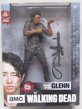 "AMC 2016 THE WALKING DEAD GLENN W/ STAND SCOPED ASSAULT RIFLE AND KNIFE 10"" inch"