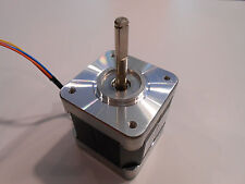 NEW Nema 17 Stepper motor 76oz/in, w/FLAT CNC Robot Reprap Makerbot  Arduino 11V