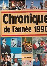 Jacques Legrand - Chronique de l'année 1990 - 1998 - relié