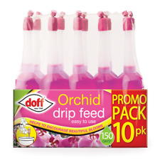 More details for doff 10 pack orchid drip feeders fertiliser each lasts 15 days plant food feed
