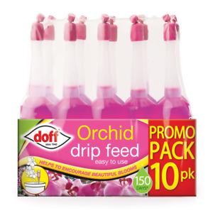 Doff 10 Pack Orchid Drip Feeders Fertiliser Each Lasts 15 Days Plant Food Feed