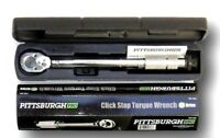 1/4 Inch Professional Drive Click Type Ratcheting Torque Wrench