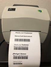 Zebra TLP3844Z Label/Barcode Printer USB Parallel Serial 300DPI 4 Fine Text Deal