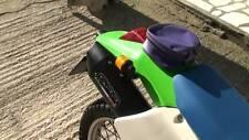 Kawasaki KLX250 Escape de GPR. Hecho en Italia. Furore Nero Para 09- modelo