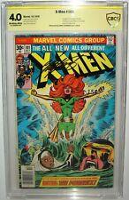 X-Men #101 SIGNED CHRIS CLAREMONT SS CBCS>CGC 4.0 1ST APPEARANCE DARK PHOENIX