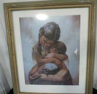 "Gregory Perillo Tender Love Signed Framed Print #882 Of 950  23.5"" x 27.5"""