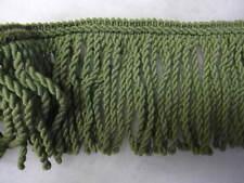 4 mt Green Bullion fringe 13cm fabric upholstery trimming sewing trim 400cm long