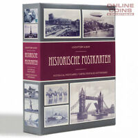 Lighthouse SMALL POSTCARD ALBUM FOR HISTORICAL POSTCARDS WITH 50 INBOUND PAGES