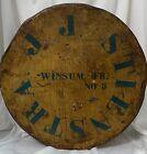 18  Antique Tin Metal Box Netherlands Pantry Cheese Friesland Dutch WWll War VTG