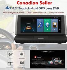 New Junsun E35 Car GPS Navigation Android ADAS 4G Bluetooth DVR Rear Camera 16GB