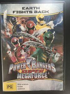 Saban's Power Rangers Super Megaforce: Earth Fights Back DVD Region 4