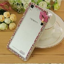 Lady's Glitter Jewelled Bling Crystal Diamonds Soft Phone back Case Cover A20