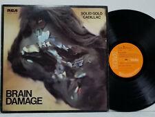 SOLID GOLD CADILLAC Brain Damage LP 1973 1st UK Press RARE EX RCA SF8365 PROG