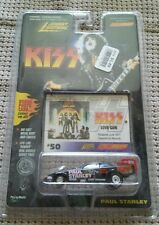 1997 KISS PAUL STANLEY FUNNY CAR #50 RACING DREAMS Die-Cast Car JOHNNY LIGHTNING