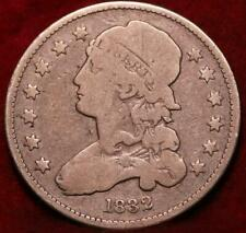 1832 Philadelphia Mint Silver Capped Bust Quarter