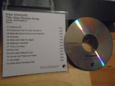 RARE ADVANCE PROMO Erasure CD Other People's Songs ELVIS Buggles DEPECHE MODE uk