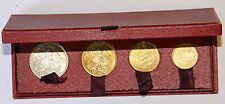 COFFRET 4 ESSAIS MONACO RAINIER III , 100, 50, 20, 10 FRANCS 1950