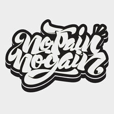 No Pain No Gain Wall Sticker