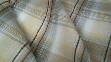 100% Cotton Lawn Plaid fabric,  Grey/multi-color, 57