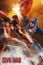 Captain America Civil War Fight 137 Poster Size 61 x 91.5cm FREE DELIVERY