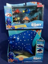 New FINDING DORY SWIGGLEFISH & MR. RAY 3-in-1 Playset 7 Figures ROLLS & WIGGLES