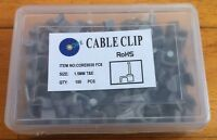 100 CABLE CLIPS FOR 1.5mm TWIN & EARTH 6242Y T&E BRAND NEW