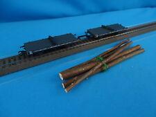 Marklin 48840 SBB CFF Drehschemel-Wagenpaar Grey with wood load 70079