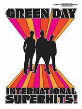 Green Day: International Superhits Guitar Tab Book