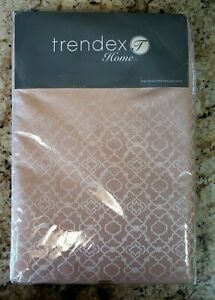 """Trendex Home Tablecloth - Color: Coral / Champagne Pink - Size: 60 x 102"""""""