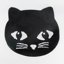 Sass & Belle Black Cat Rug Mat Childrens Bedroom Nursery Novelty