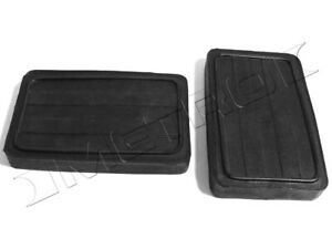 Chrysler Clutch and Brake Pedal Pads Fits:1930-1939 CJ, Imperial, Royal and more