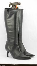 Clarks Knee High Slim Heel Boots for Women