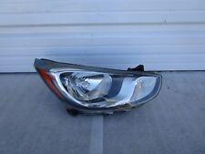 2015 2016 Hyundai Accent Passenger Right RH Headlight Head Lamp OEM 15 16