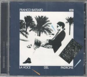 FRANCO BATTIATO - LA VOCE DEL PADRONE - CD NUOVO SIGILLATO