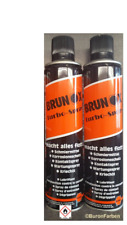 Brunox Turbo-Spray 2 x 400 ml Multifunktionsöl / Schmiermittel / Kriechöl