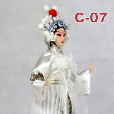 C-07 China Peking Oper chinesisch Puppe Figur Seide 31 cm Neu Geschenkidee OVP