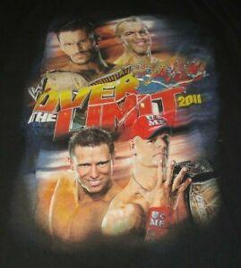 "2011 JOHN CENA vs THE MIZ ""OVER THE LIMIT"" (XL) T-Shirt"