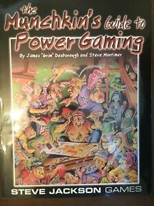 The Munchkin's Guide to Power Gaming Steve Jackson Games