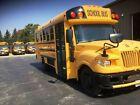 2014 IC 18 + 3 Wheelchair Passenger School Bus Maxforce 6.4L Diesel Engine.