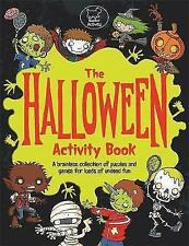 The Halloween Activity Book by Lauren Farnsworth (Paperback) Book