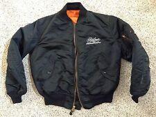 BOB SEGER & THE SILVER BULLET BAND Alpha Black Jacket Sz Adult Medium? Vintage