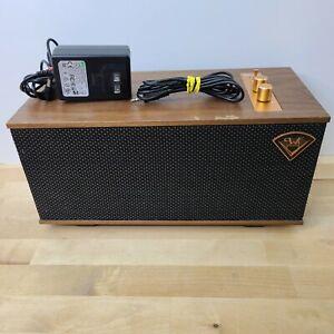 Klipsch Heritage The One Portable Powered Bluetooth Speaker Walnut