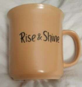 Rise & Shine Large Coffee Mug Dishwasher and Microwave Safe