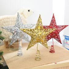 Stern f rmiger christbaumschmuck ebay - Stern weihnachtsbaumspitze ...