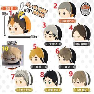 Haikyu Haikyuu Mochimochi Mascot Plush Doll Toy Keychain VOL3 Akaashi Bokuto New