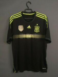 Spain Jersey 2013 2015 Away LARGE Shirt Soccer Football Adidas F39821 ig93