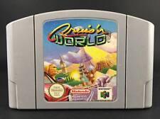 Cruis'n (Cruisin') World - Nintendo 64 Game - N64 PAL Preloved - Cartridge B*